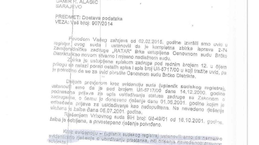 Opcinski Tuzla 2015- Ratar