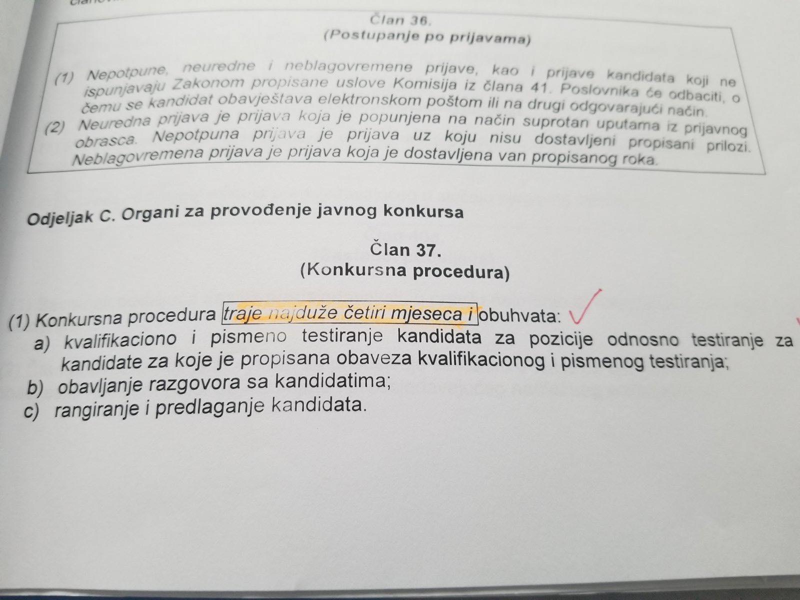konkursna procedura