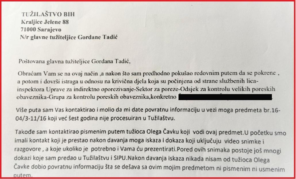 pismo Gordani crno