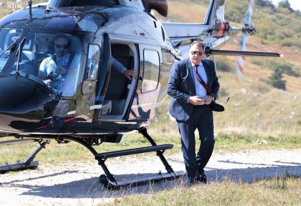 Dodik šalje helikoptere u borbu protiv korone Žurnal - Jedina ...